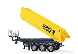 3 assige Schmidt Cargobull oplegger