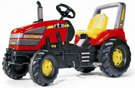 X-Trac rood met versnelling en rem