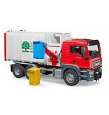 MAN TGS vuilnisauto / klikauto zijlader