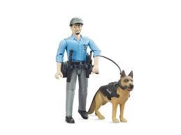 Politieagent met hond
