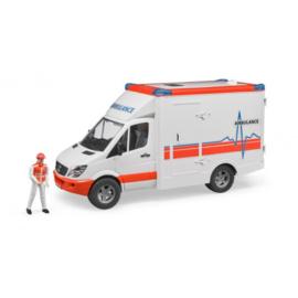 MB Sprinter ambulance met chauffeur