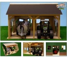 Tractorloods 2 tractoren / machines