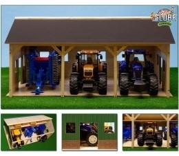 Tractorloods 3 tractoren/machines