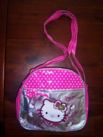Hello kitty meisjes laktasje Donker-roze.