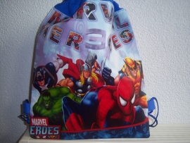 Kinder gym/zwemtas Marvel Heroes