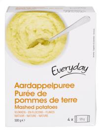 EVERYDAY  aardappelpurree (vlokken), builtjes  -  4 x 125 gr