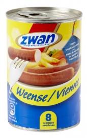ZWAN Weense worstjes - 8 stuks,  240 gr.