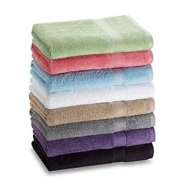 Luxe handdoek voor badkamer 60 x 110 cm, kleur volgens keuze - per 1 stuk.