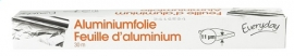 EVERYDAY  aluminiumfolie 11 micron - 30 m.