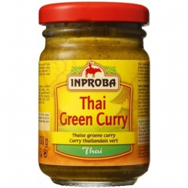INPROBA - Thaise groene curry, in glas - 100 gr. net