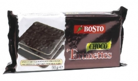 BOSTO  tartinettes pure chocolade - 90 gr.