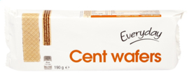 EVERYDAY  Cent wafers  -  190 gr