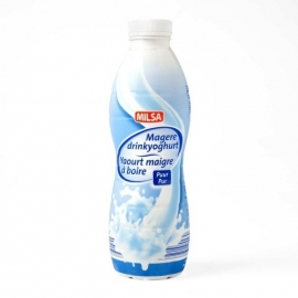 Magere drinkyoghurt natuur - 750 ml.