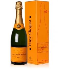 VEUVE CLICQUOT  champagne brut - 75 cl....aan huis geleverd !