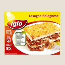 IGLO lasagne bolognese 450 gr - Diepvries.