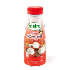 MELRO  Volle room - 250 ml.