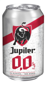 JUPILER  0,0  pils alcoholvrij in blik   -   33 cl