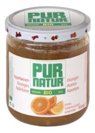 PURNATUR sinaasappelconfituur bio  -  450 gr.