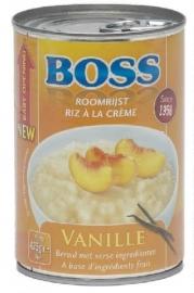 BOSS  roomrijst vanille, 425 gr.