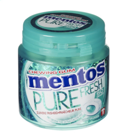 MENTOS PURE FRESH  Gum Wintergreen  -  50 st.
