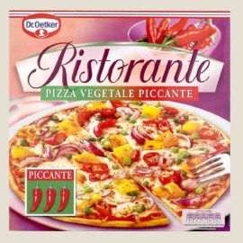 DR.OETKER RISTORANTE - pizza vegetale piccante - 350 gr.