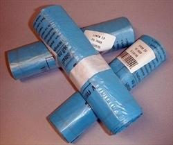 PMD zakken, blauw IVBO, 1 rol - 20 stuks.