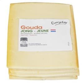 EVERYDAY  Holland jonge gouda sneden - 500 gr (1/2 kg).