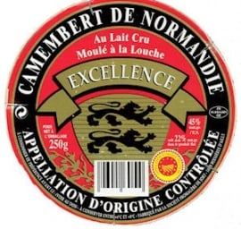 EXCELLENCE  Camembert De Normandie - 250 gr.