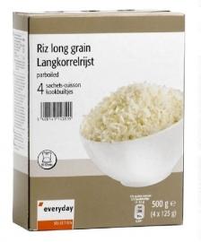 EVERYDAY rijst in kookbuiltjes ; 4 x 125 gr.