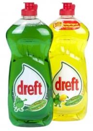DREFT afwasmiddel assortiment (groen of geel / 1 stuk) - 820 ml