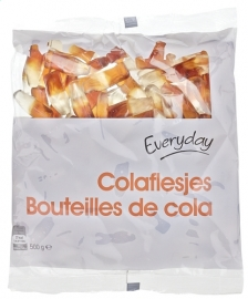 EVERYDAY  colaflesjes - 500 gr, (1/2 kilogram)