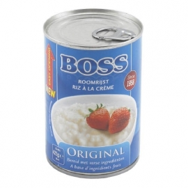 BOSS  roomrijst rice pudding natuur - 425 gr.
