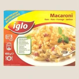 IGLO macaroni ham-kaas 450 gr.