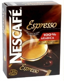 NESCAFE  espresso - 25 sticks.