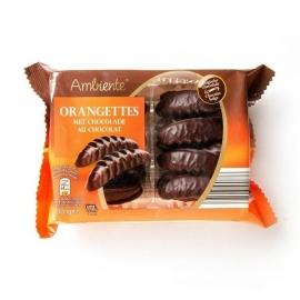 AMBIENTE®  Orangettes chocolade met zachte sinaasappelvulling - 200 gr.