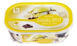 BONI SELECTION roomijs banana split   -   900 ml