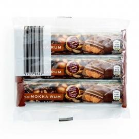AMBIENTE®  Gevulde chocoladerepen mokka rhum - 3 x 45 gr.