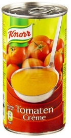 KNORR  tomatencrème - soep, in blik - 515 ml