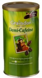 GRAINDOR demi-cafeïne gemalen - 500 gr