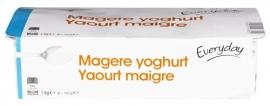 EVERYDAY  magere yoghurt - 8 x 125 gr.