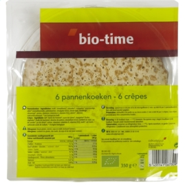 Bio Time - 6 pannenkoeken - 350 gr.