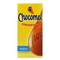 Chocomel halfvol  -  1L;  Tetraverpakking.