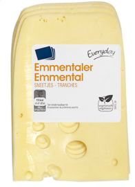 EVERYDAY  Emmentaler sneden  -  300 gr.
