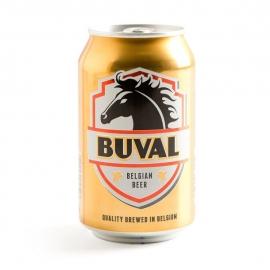 BUVAL  Pils echt Belgisch pilsbier - 33 cl.