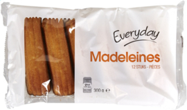 EVERYDAY  12 madeleines (lang)  -  300 gr