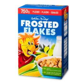 GOLDEN BRIDGE®  Frosted flakes gesuikerde maïsvlokken  -  750 gr.