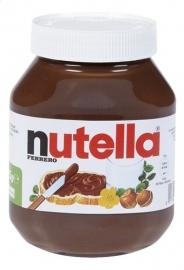 NUTELLA  hazelnootpasta met cacao chocopasta -  825 gr