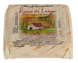 ROSSO DI LANGA  italiaanse kaas  -  ± 275 gr