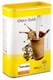 EVERYDAY  instantcacaopoeder Choco Quick - 800 gr.