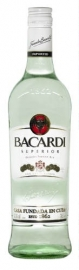 BACARDI Superior witte rum 37,5 % 70 cl